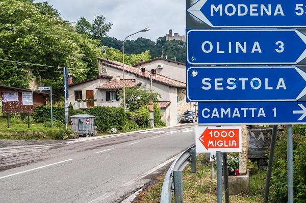 Mille Miglia onderweg