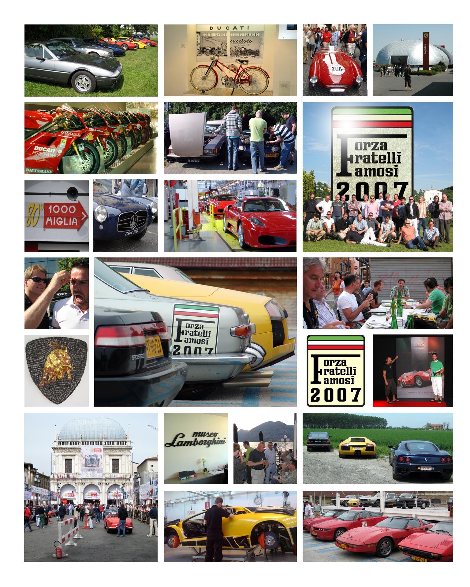 2007: Ferrari, Lamborghini...